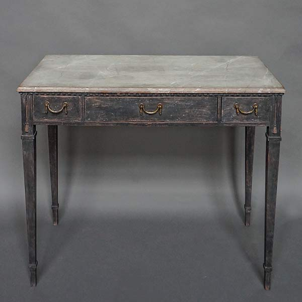 Swedish Side Table in the Neoclassical Style