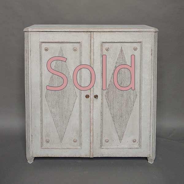 """Gustavian Style Swedish Two-Door Sideboard"" is locked Gustavian Style Swedish Two-Door Sideboard"