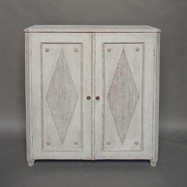 Swedish Gustavian style two-door sideboard