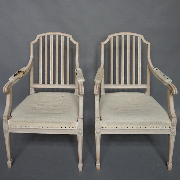 Pair of Swedish Armchairs
