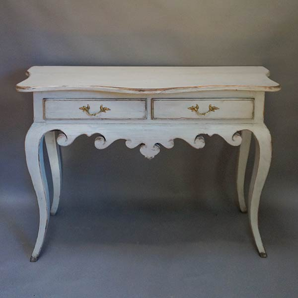 Rococo Style Swedish Console Table