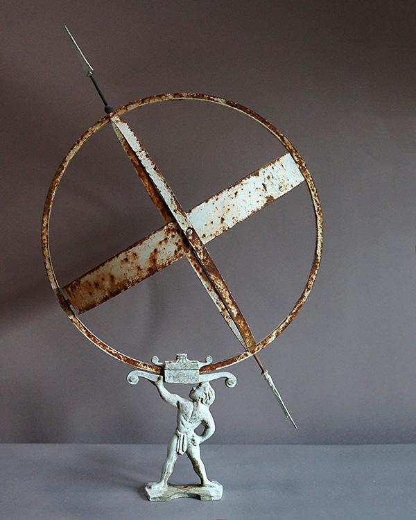 Armillary Sundial with Three Rings