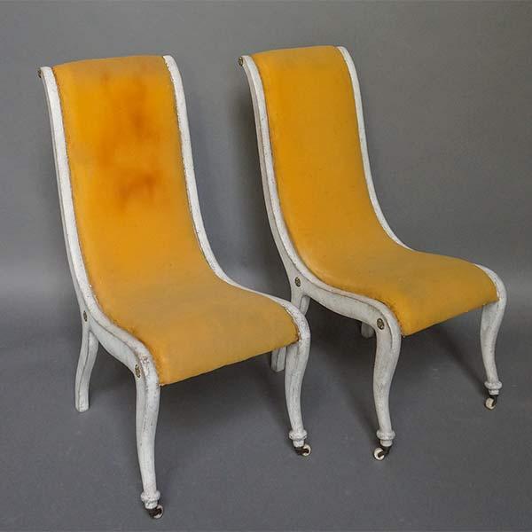 Pair of Swedish Biedermeier Chairs