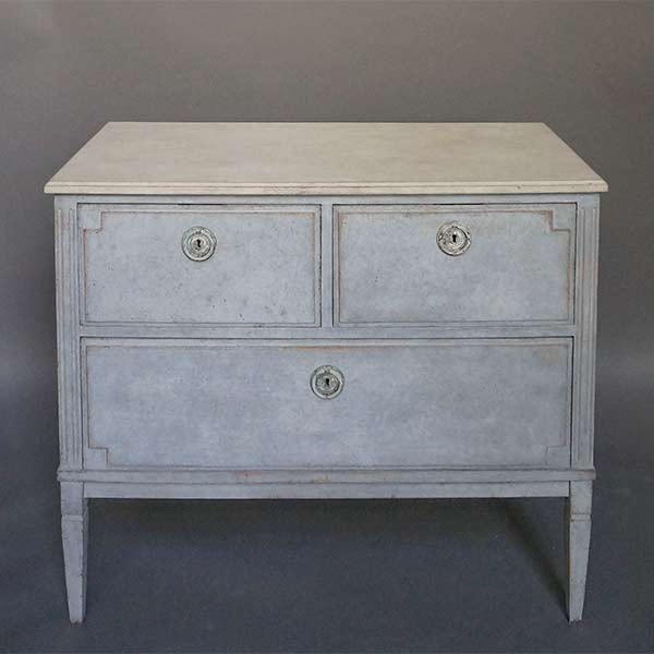 Swedish Commode in the Gustavian Style