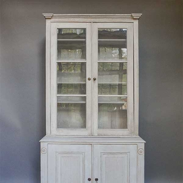 Gustavian Style Cabinet / Library