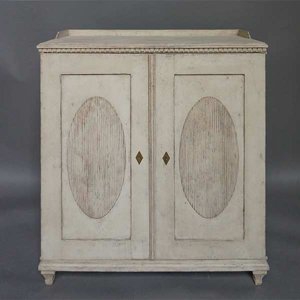 Gustavian Style Sideboard with Gallery Top