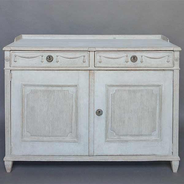 Neoclassical Two Door Sideboard