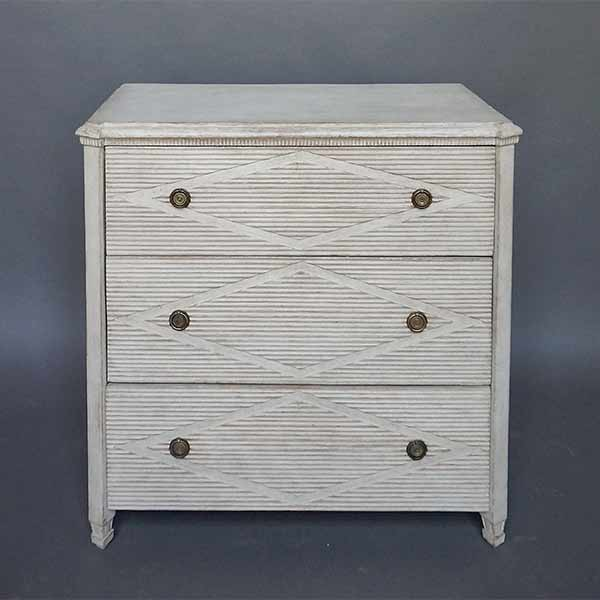Swedish Chest of Drawers in the Gustavian Style