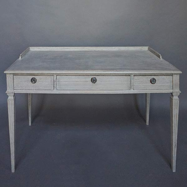 Three-Drawer Writing Table
