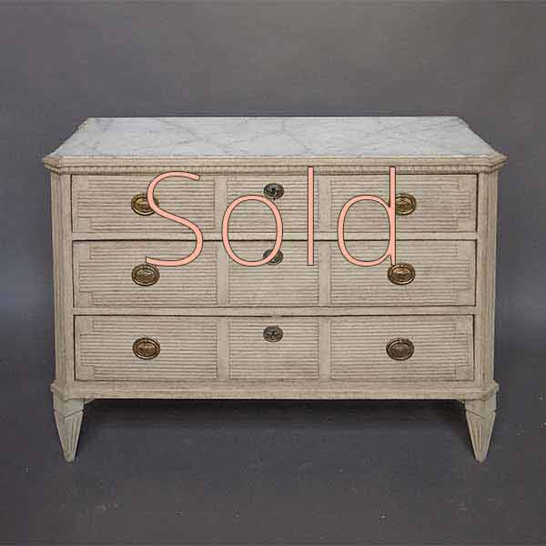 Chest of Drawers with Neoclassical Details