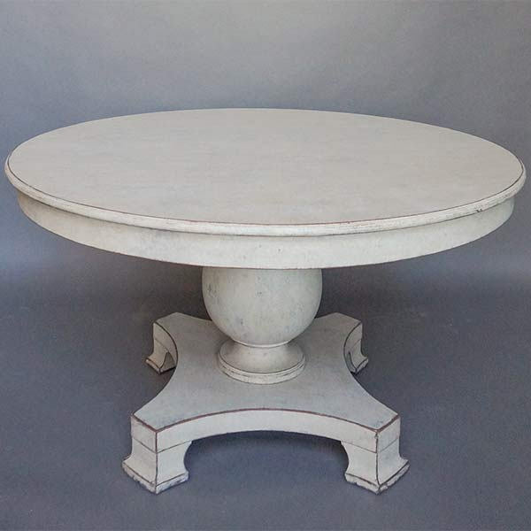 Empire Dining Table with Pedestal Base
