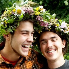 Midsummer flower crowns