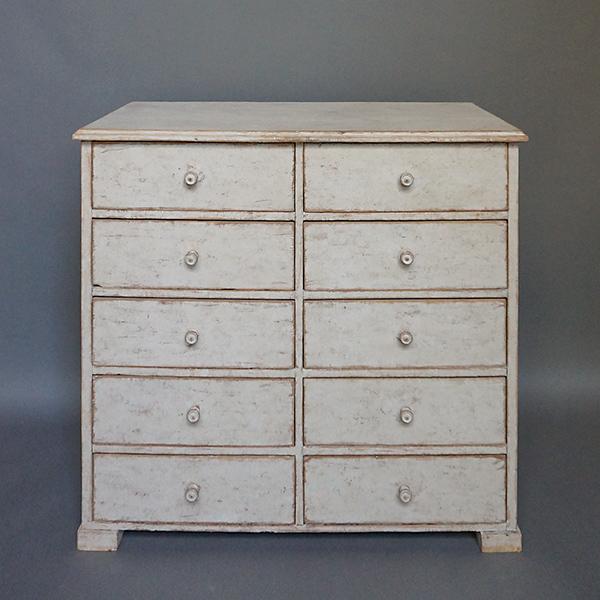 Swedish Multi-Drawer Cabinet