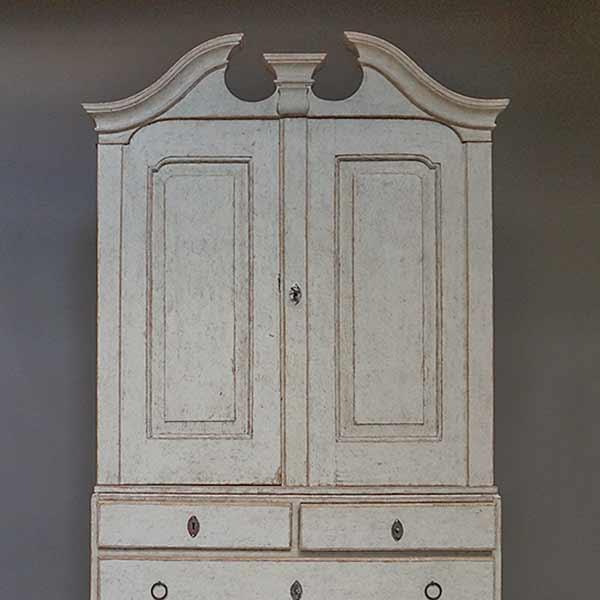 Period Swedish Rococo Cabinet