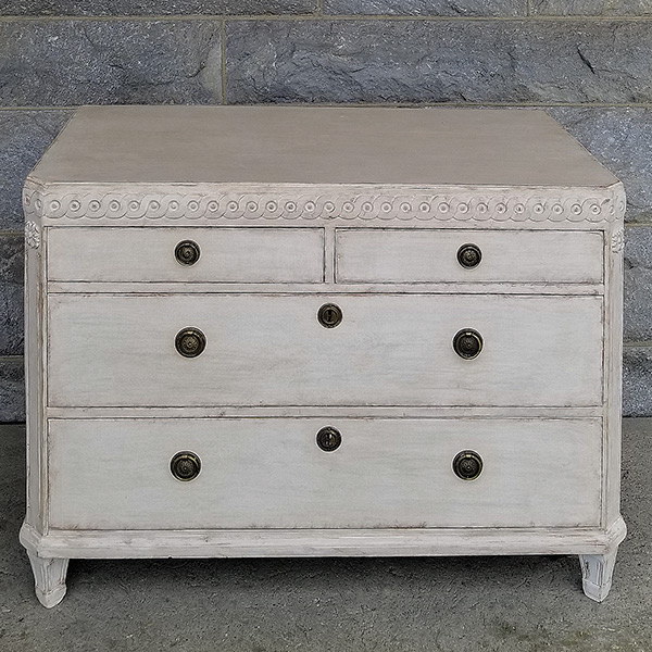 Swedish Four-Drawer Chest
