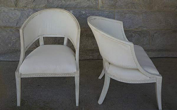 Pair of Period Neoclassical Armchairs
