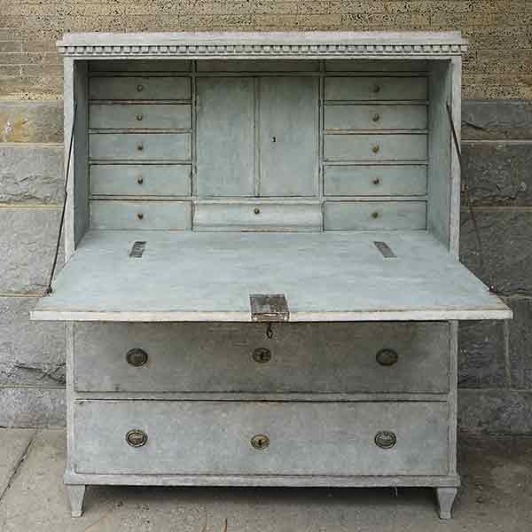 Swedish Neoclassical Fall Front Desk