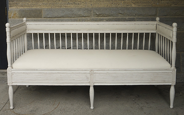 Gustavian Style Sofa